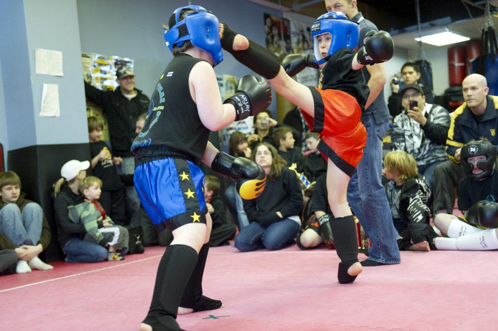 Garage kickboxing